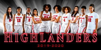 Girls Basketball Composite Photos